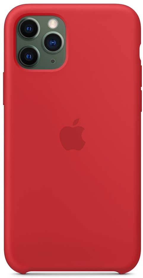 Apple iPhone 11 Pro Max Silicone - Red