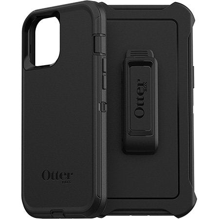 Otter Box  Defender Rugged Protective Case(Black)-iPhone 12 Pro Max