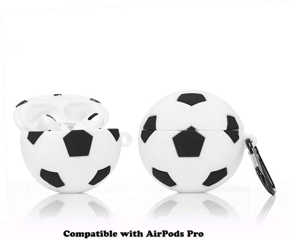 Airpods Pro 3D Silicone Skin-Soccer Ball