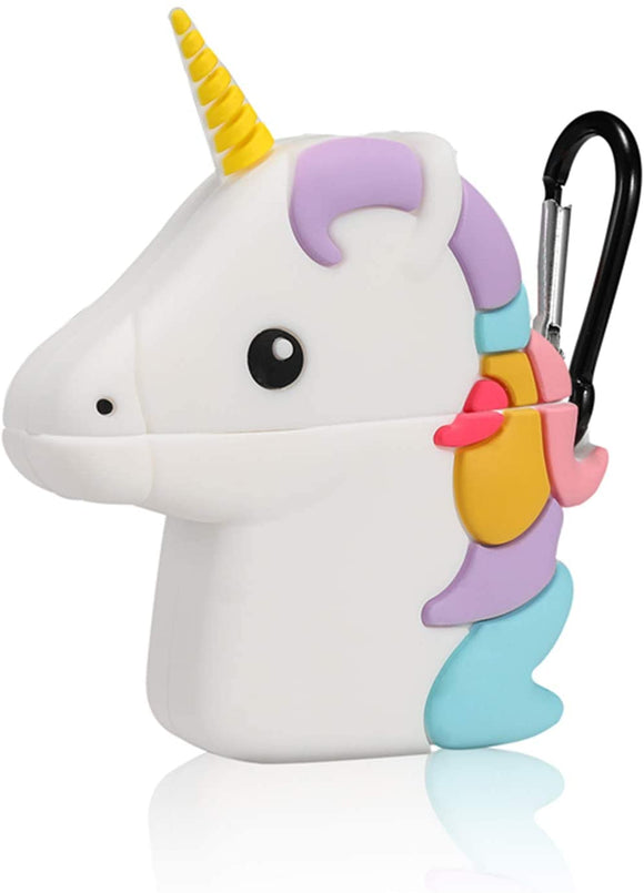 Airpod 1/2 Silicone Case (3D Unicorn)