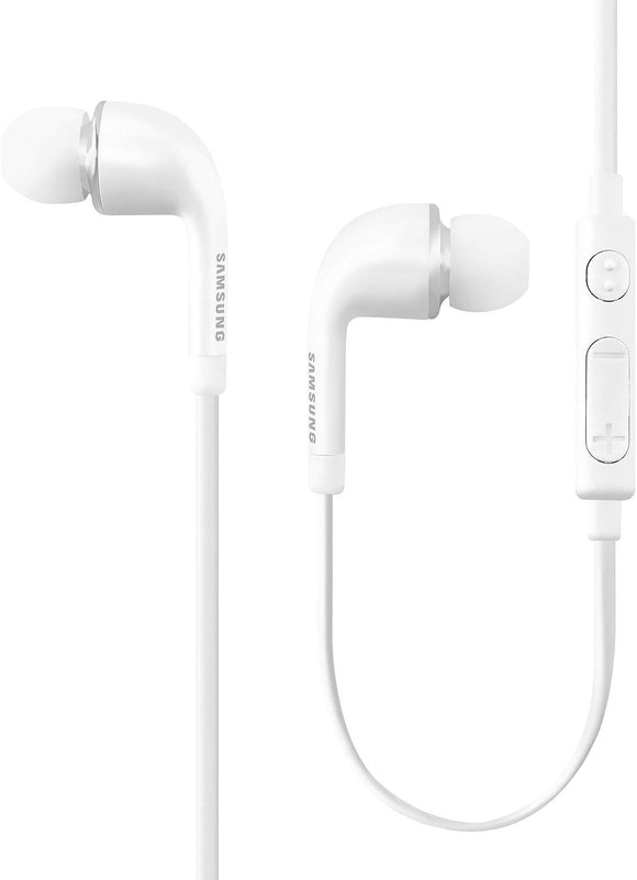 Samsung Eo-eg900bw Stereo Headset With Volume Key for Galaxy S5
