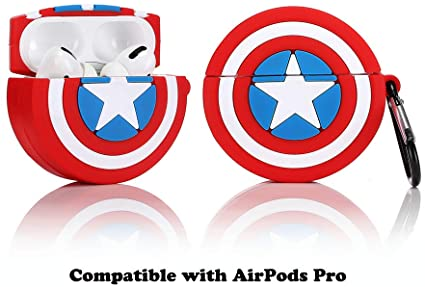 Airpods Pro Silicone Skin- Captain Shield