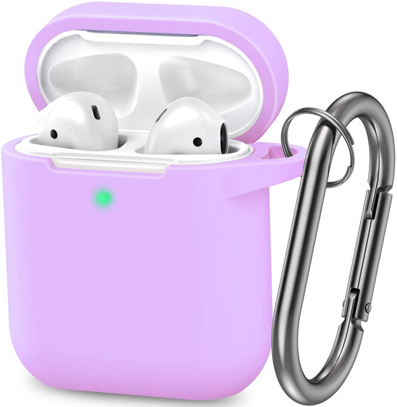 AirPods 1/2 Silicone Skin -Purple