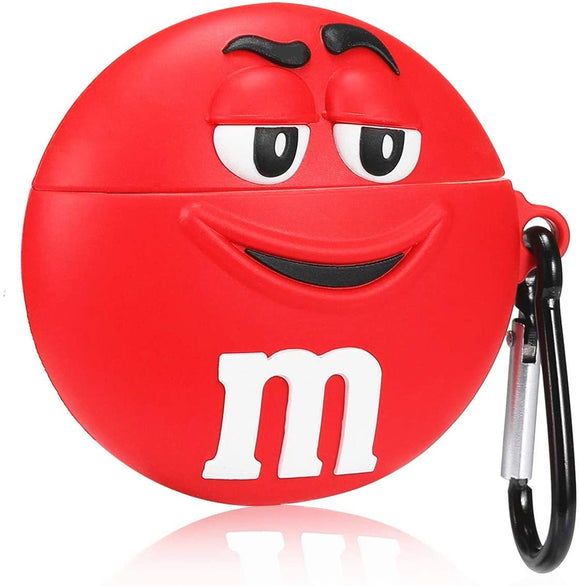 Airpod 1/2 Silicone M&M (Mr Red)
