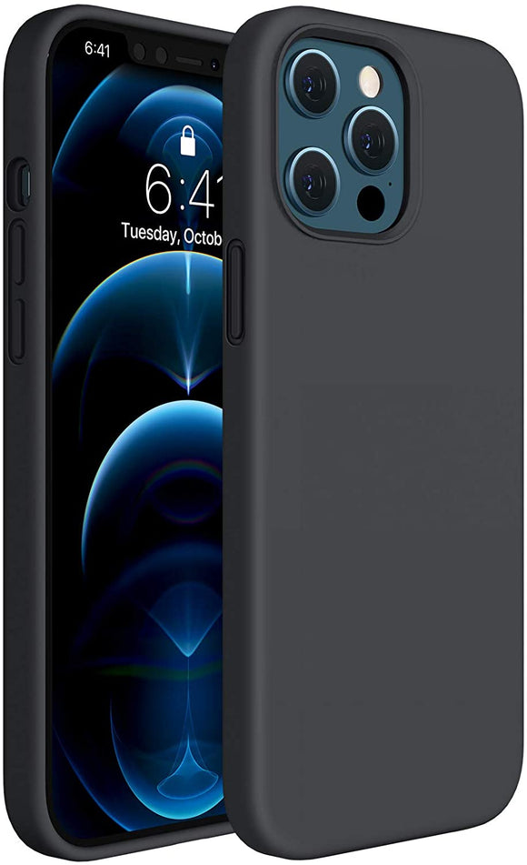 Silicone Case (Black) - iPhone 12 Pro Max