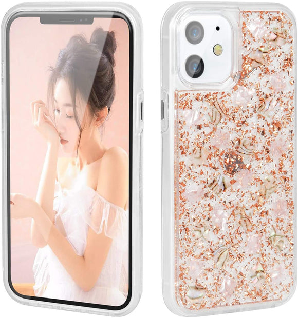 iPhone 12/12 Pro 6.1 Snow Flake Rosegold
