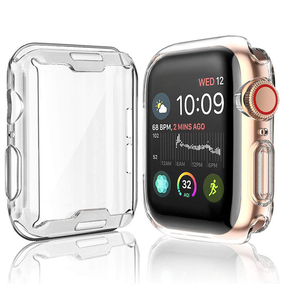 Apple Watch Series 1/2/3 38mm Transparent Clear Candy Skin Cover