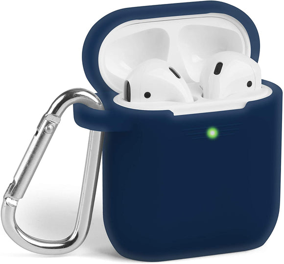 AirPods 1/2 Silicone Skin - Dark  Blue