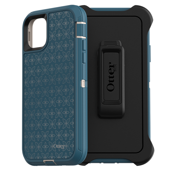OtterBox - Defender Case for Apple iPhone 11 Pro Max - Petal Pusher