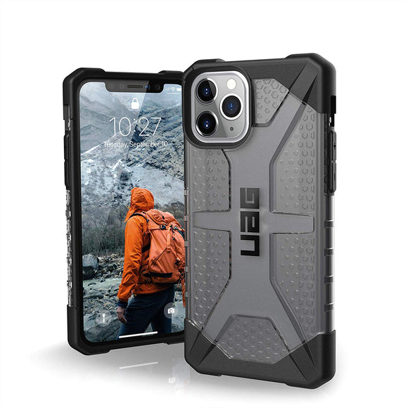 UAG Designed for iPhone 11 Pro [5.8-inch Screen] Plasma Feather-Light Rugged [Ash] Military Drop Tested iPhone Case