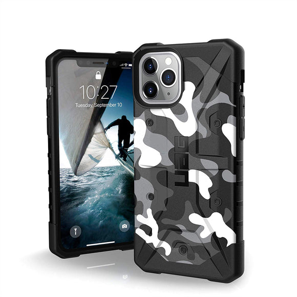 URBAN ARMOR GEAR UAG Designed for iPhone 11 Pro [5.8-inch Screen] Pathfinder SE Feather-Light Rugged [Arctic Camo] Military Drop Tested iPhone Case