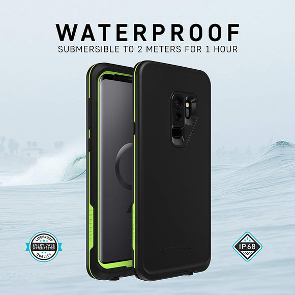 LifeProof Fre Case for Samsung Galaxy S9 - Night Lite (Black/Lime)