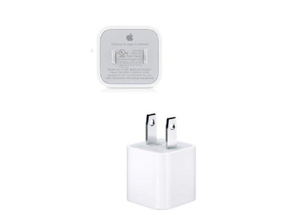 A1385- Apple - 5W USB Power Adapter - White (BULK)