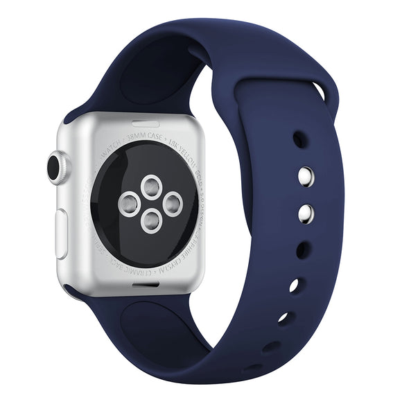 Apple Watch Silicone band 42/44mm series - Dark Blue