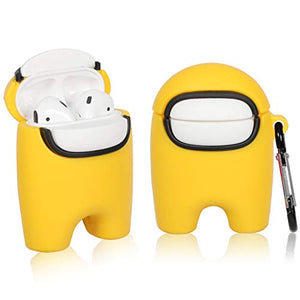 Airpods 1/2 Among Us - Yellow