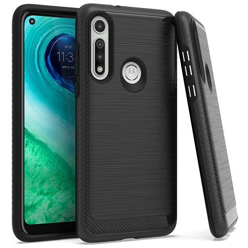 Motorola Moto G FAST Brushed Case 3 Black