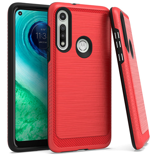 Motorola Moto G FAST Brushed Case 3 Red