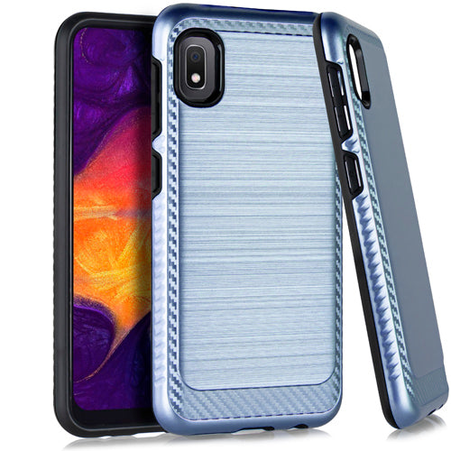 Samsung A10E Brushed Case 3 Navy Blue