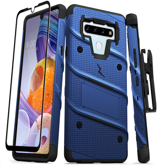 ZIZO BOLT SERIES LG STYLO 6 BLUE & BLACK