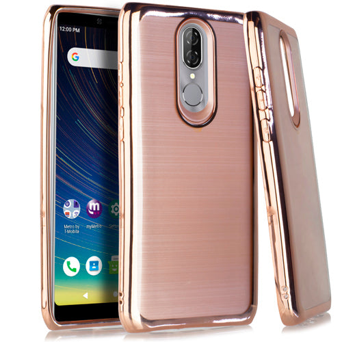 Coolpad Legacy Crystal Brushed Chrome Rose Gold