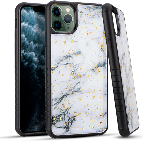 iPhone 11 Pro MAX 6.5 Chrome Flake Marble White