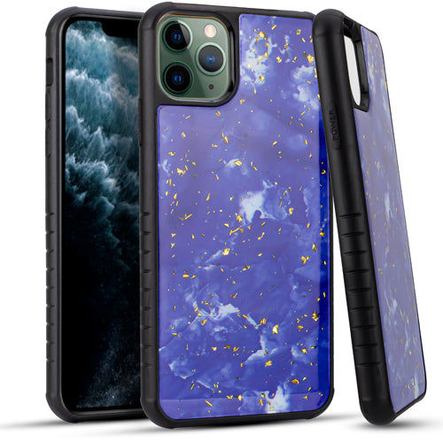 iPhone 11 Pro MAX 6.5 Chrome Flake Marble Purple