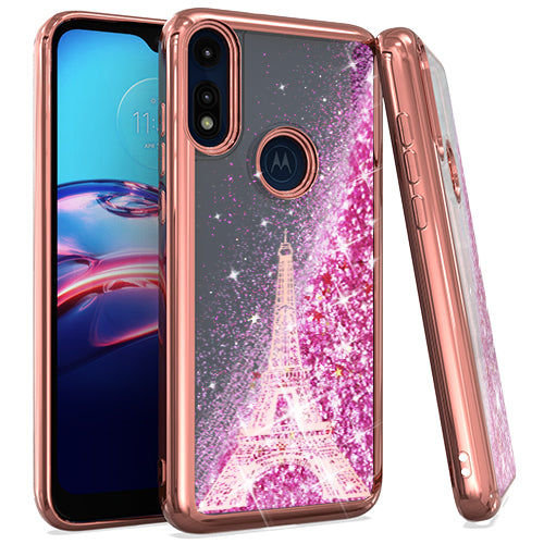 Motorola Moto E 2020 CHRO GLT MOTN Paris Tower ROSE GOLD
