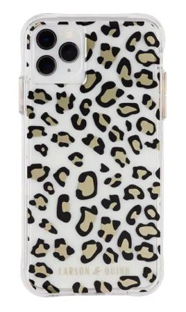 Carson & Quinn Cheetah Case iPhone 11 Pro Xs X