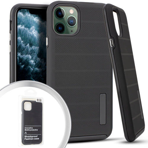 PKG iPhone 11 Pro MAX 6.5 Delux Brushed Case Black