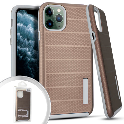 PKG iPhone 11 Pro MAX 6.5 Delux Brushed Case Rose Gold