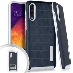 PKG Samsung A20/A50 Delux Brushed Case Navy Blue