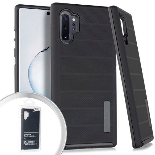 PKG Samsung Note 10 PRO Delux Brushed Case Black