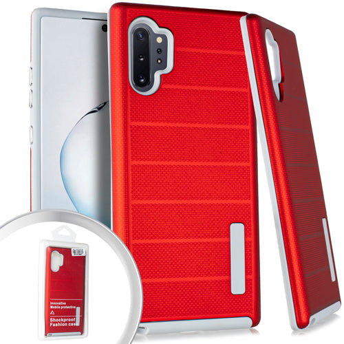 PKG Samsung Note 10 PRO Delux Brushed Case Red