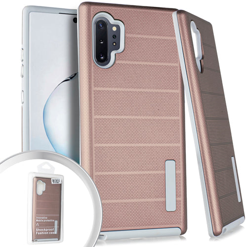 PKG Samsung Note 10 PRO Delux Brushed Case Rose Gold