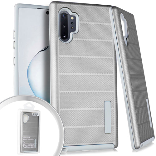 Samsung Note 10 PRO Delux Brushed Case Silver