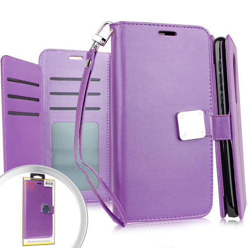Coolpad Legacy Deluxe Wallet w/ Blister Purple