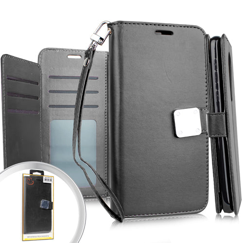 Samsung A51 5G Deluxe Wallet Blister Black