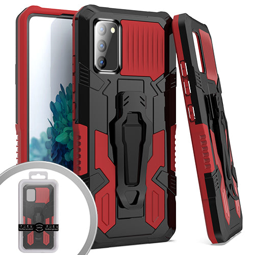 PKG Samsung S20 Fan Edition Tactical CLIP Red