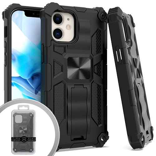 PKG iPhone 12 MINI 5.4 Tactical Stand Black