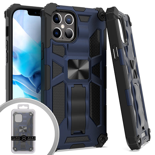 PKG iPhone 12/ 12 Pro 6.1 Tactical Stand Navy Blue