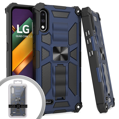 PKG LG K22 Tactical Stand Navy Blue