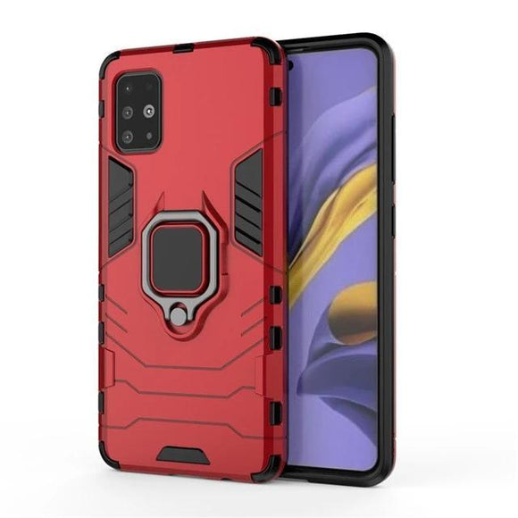 Samsung A51 Armor Magnet case- Red