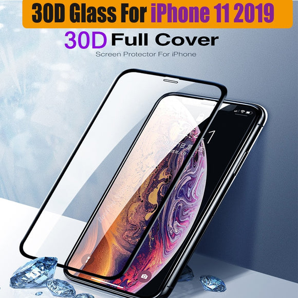 DIAMOND TEMPERED GLASS PROTECTOR IPHONE 11 PRO MAX/XS MAX 6.5 (PREMIUM QUALITY)