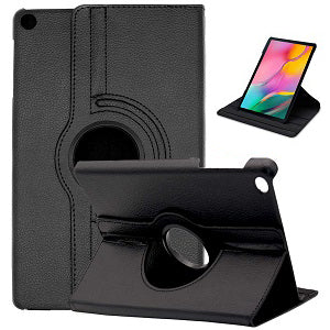 SAMSUNG GALAXY TAB A 10.1 2019 T510 T515 360 DEGREE ROTATING STAND CASE COVER ( BLACK)