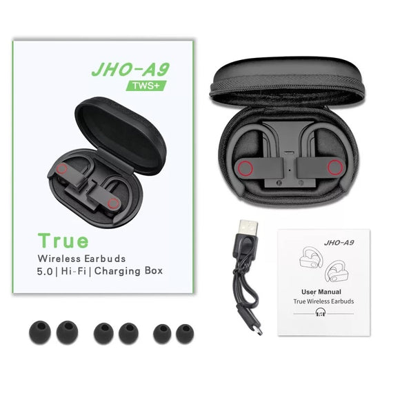 JHO-A9 TWS+ WIRELESS EARBUDS