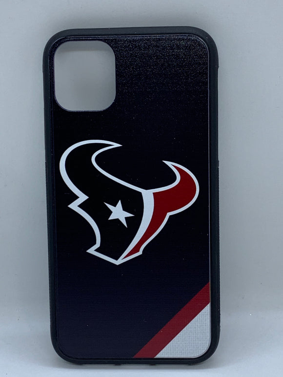 Houston Texans Stripe iPhone 11 Pro Bump Case