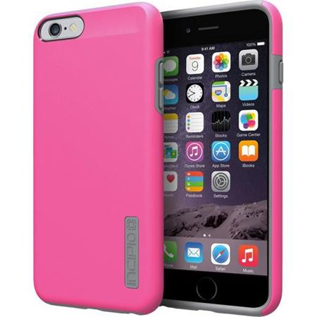 Incipio DualPro Hard Shell Case With Impact-Absorbing Core for iPhone 6 Plus Pink/Charcoal