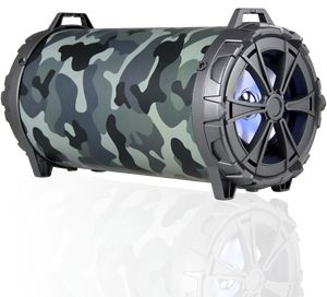 Max Power 286BZ Heavy Duty Metal Bazooka Camo