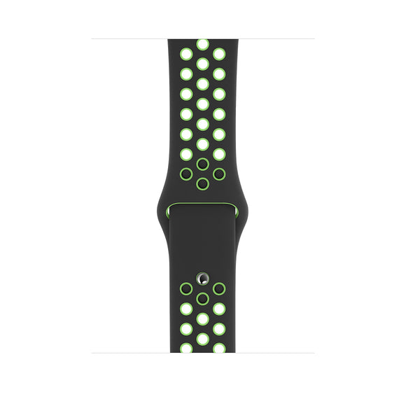 Nike Sport Band for Apple Watch 42mm - Black/Volt