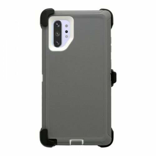 Phone case for Samsung Note 10 Plus - Grey White